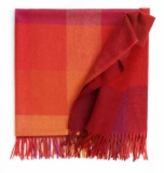 Inca stones Decke flame red
