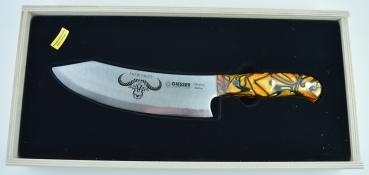 Giesser Messer PremiumCut Chefs No. 1 SPICY ORANGE 20 cm